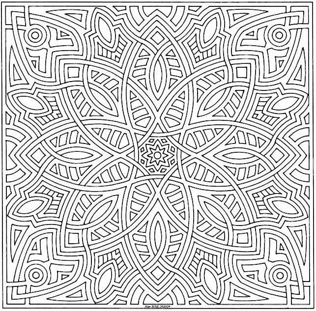 Coloriage Mandalas Animation Th 232 Me Continents