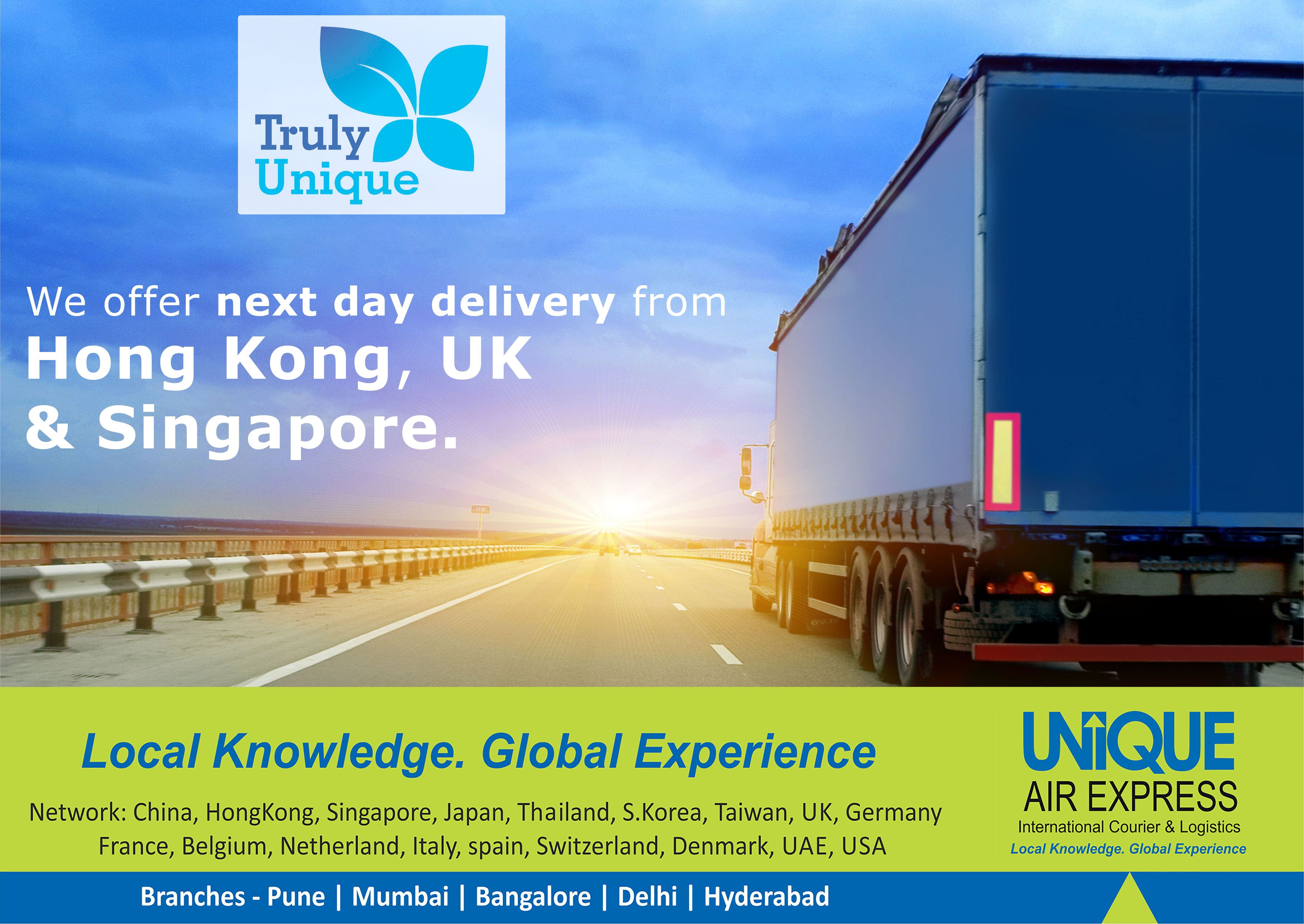 Next Day Delivery From Singapore Hong Kong And Uk Singapore International Courier Services Courier Companies
