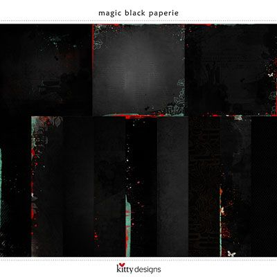 Magic Black Paperie