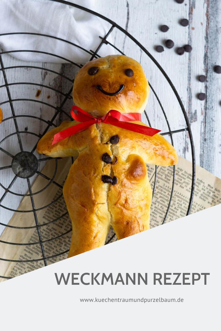 Weckmann Rezept zu St. Martin - Küchentraum & Purzelbaum
