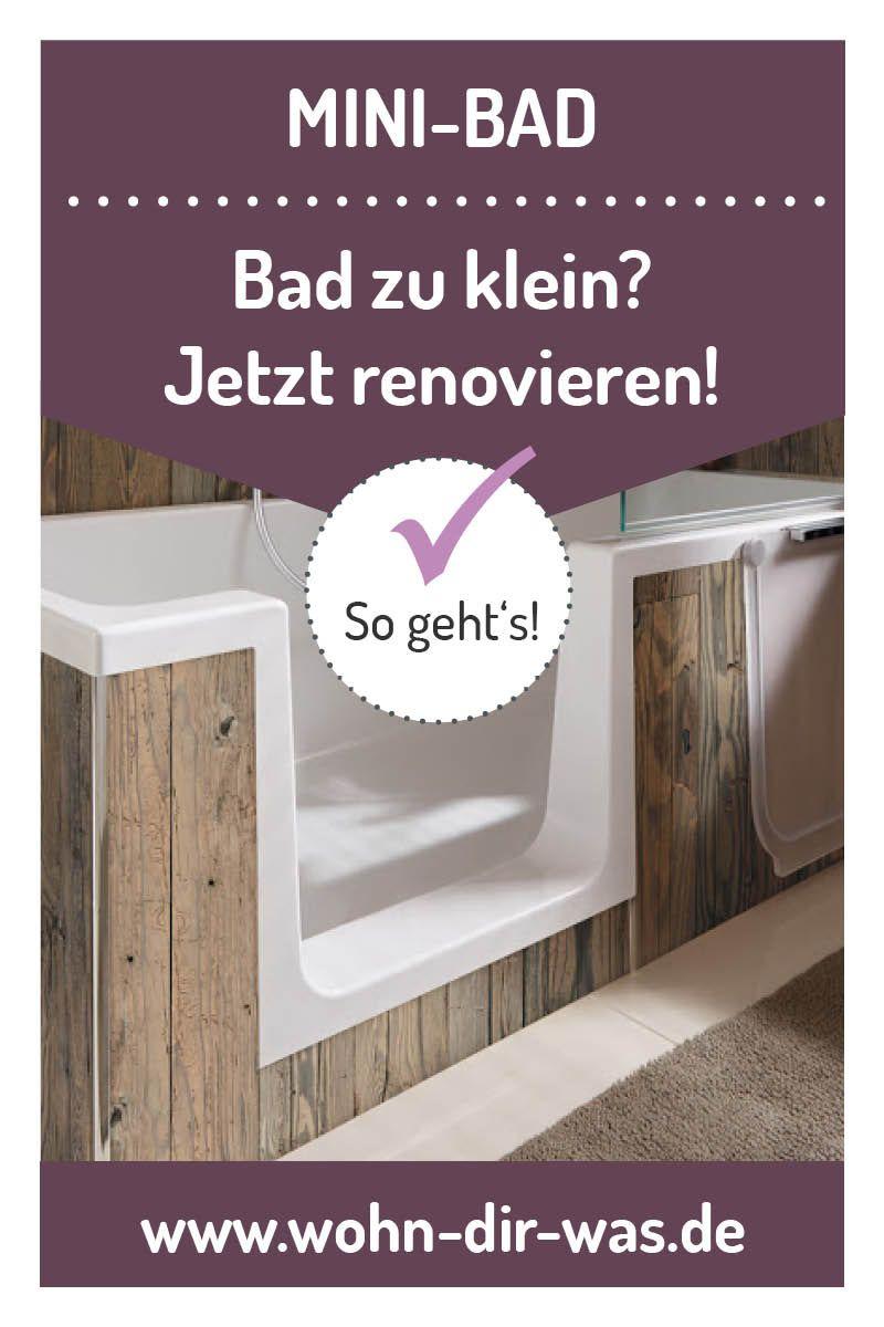 Badezimmer Richtig Planen Mit Unterstutzung Von Wohn Dir Was Wanne Mit Dusche Mini Bad Neues Bad
