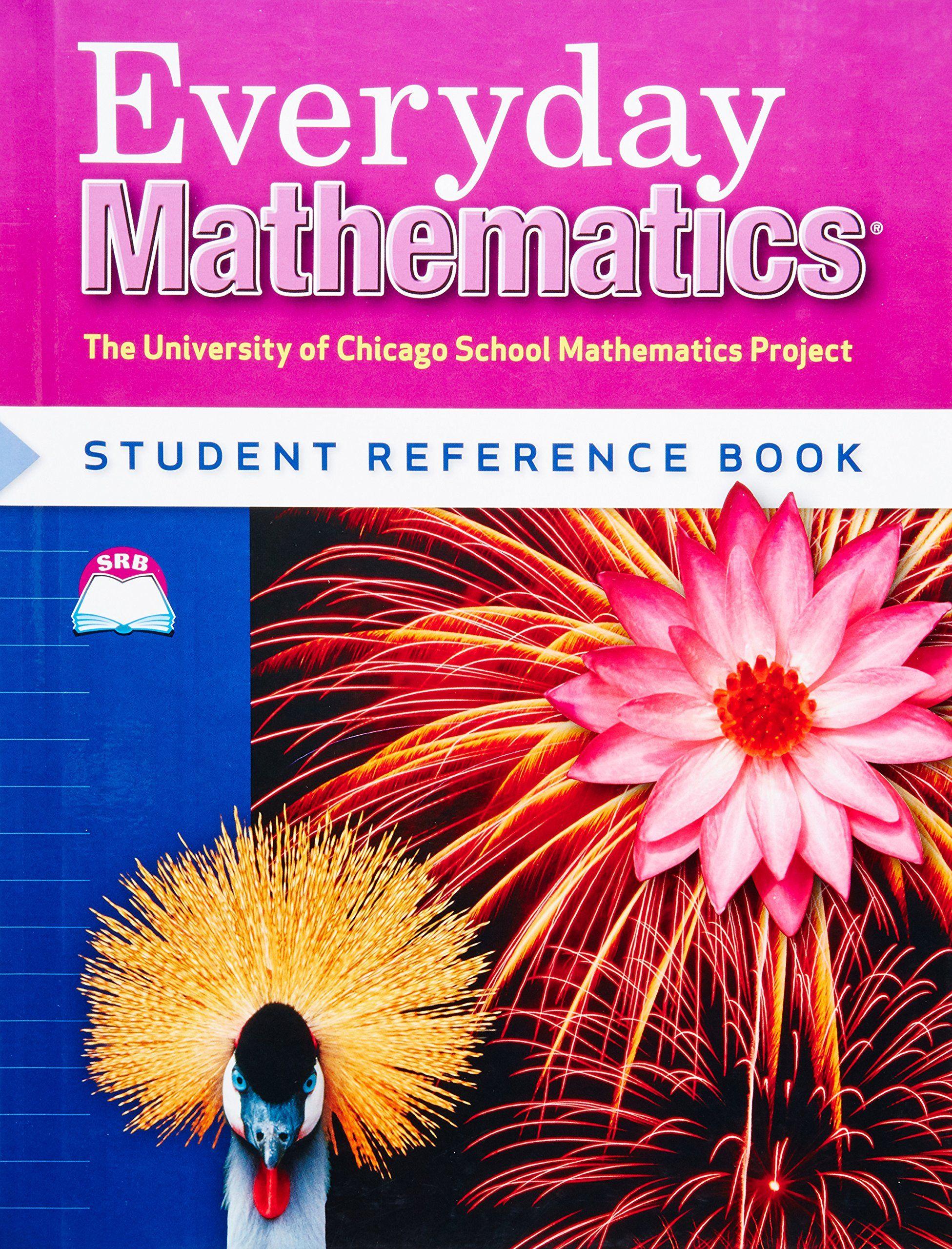 Everyday Mathematics Student Reference Book Grade 4 University Of Chicago School Mathematics Project Price Everyday Math Everyday Mathematics Math Journals