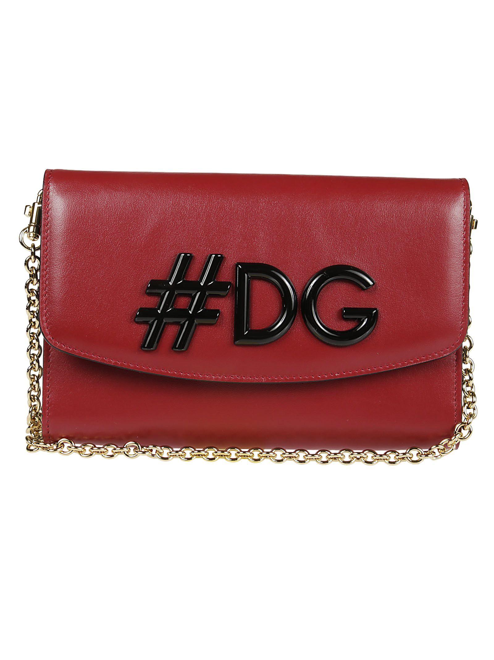 90530600ea DOLCE   GABBANA HASHTAG LOGO SHOULDER BAG.  dolcegabbana  bags  shoulder  bags  leather