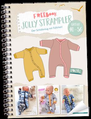Photo of FREEBOOK: Jolly Strampler – der Schlafanzug mit Füßchen | Lybstes. | Bloglovin…