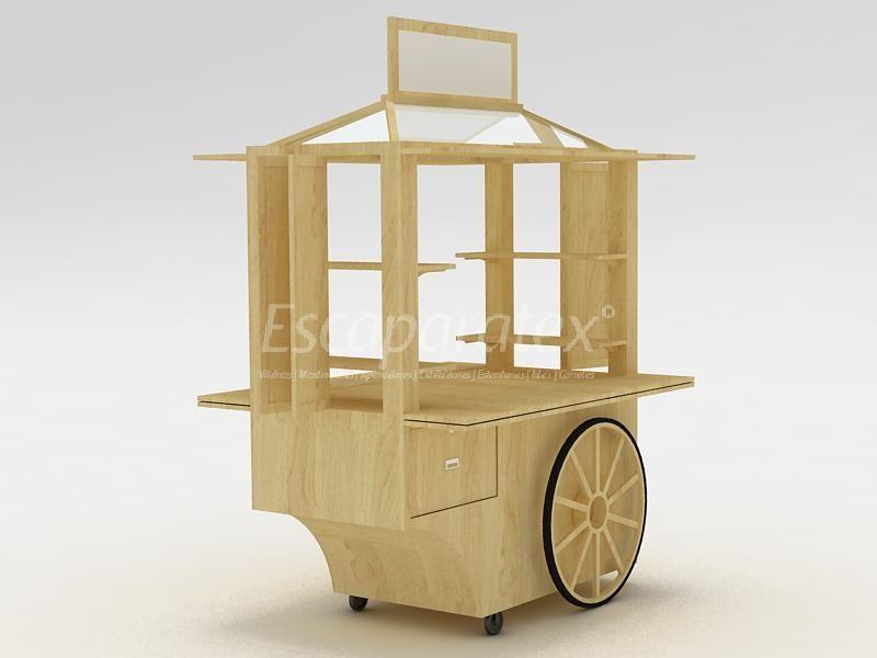 Kioscos modernos para centros comerciales buscar con for Disenos de kioscos de madera