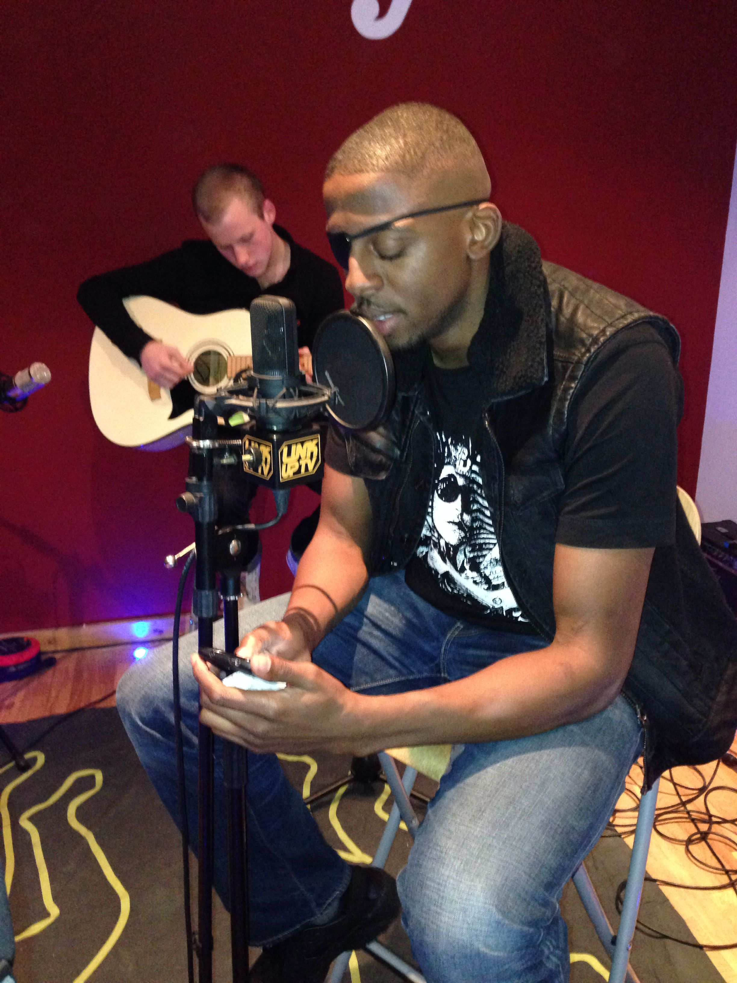 YMB breaking it down acoustically for LinkUpTV #BigHomie #Mv3
