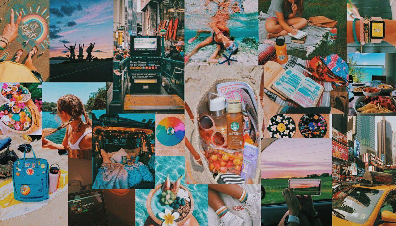 macbook screensaver summer vsco aesthetic laptop