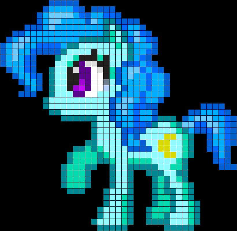 Pie Pinkie Art Minecraft Pixel Templates Pony