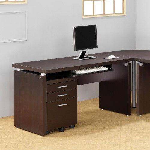 Coaster Skylar Computer Desk With Optional Extension And