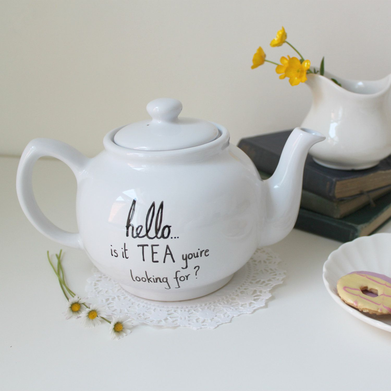 Looking For Teapots Lionel Richie Teapot Hand Drawn By Mr Teacup Hello Is It
