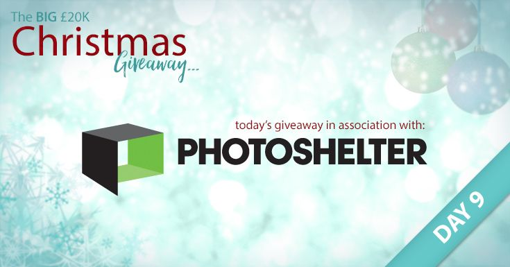 The BIG £20K Christmas Giveaway – For Day 9 in our daily festive giveaway, in partnership with our friends at PhotoShelter, we're giving away ELEVEN fantastic prizes. In today's giveaway, you're in with a chance of winning 1 of 3 PhotoShelter Annual Pro Memberships, 1 of 3 half-price (50% off) Standard Memberships from PhotoShelter and 1 of 5 Photobooks from Loxley Colour. Enter now at: www.facebook.com/LoxleyColour/