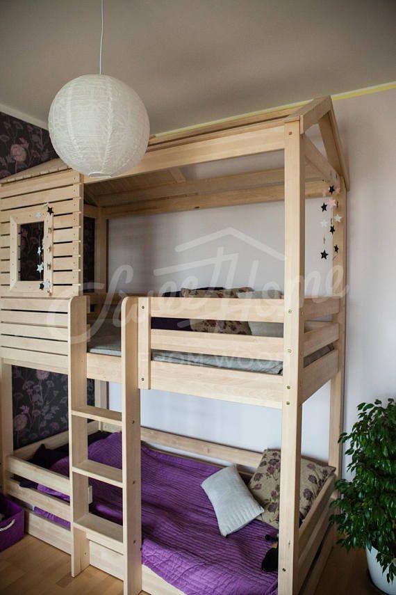 Die besten 25+ Etagenbetten mit matratzen Ideen auf Pinterest - design des projekts kinder zusammen