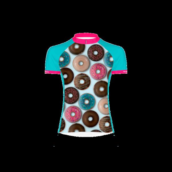 Donut Love Women's Sport Cut Cycling Jersey