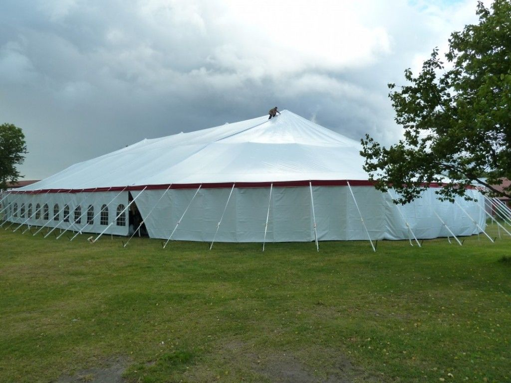 Beautiful 18 oz premium x oval pole tent for church meetings revivals and other tent events. : big tent events - memphite.com