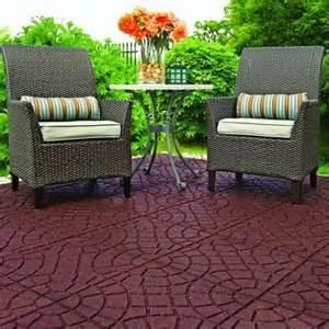 Great Outdoor Flooring Home Depot 4 Patio Deck Tiles