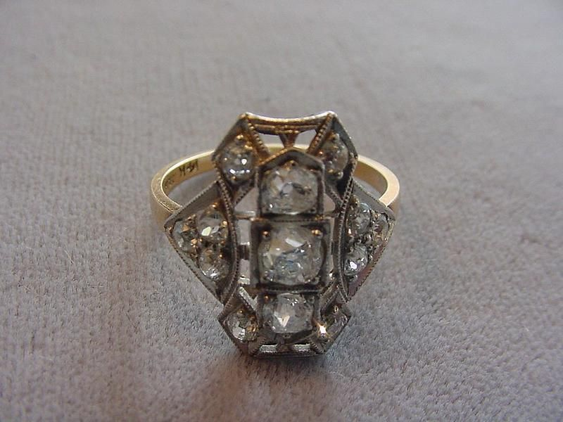 Edwardian Diamond Ring. lovee