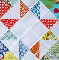 Red Pepper Quilts: half square triangles