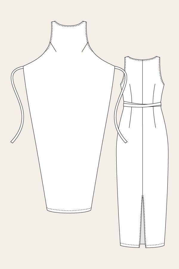 Kielo Wrap Dress sewing pattern | Named - Stitch 56 - 4 | Women\'s ...