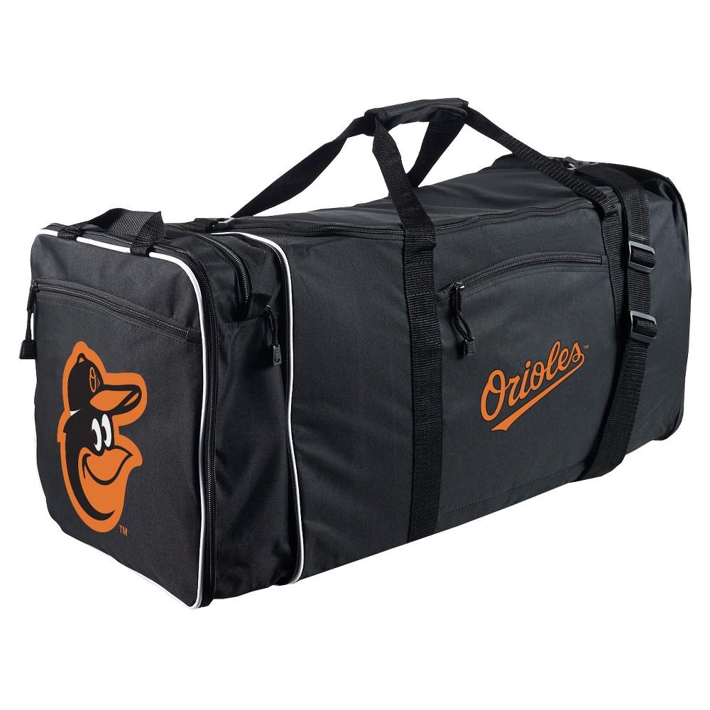 """MLB Baltimore Orioles 28"""" Steal Duffel Bag Black Bags"""
