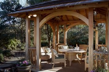 Gazebo plans with fireplace gazebo plans simple house for Plans for gazebo with fireplace