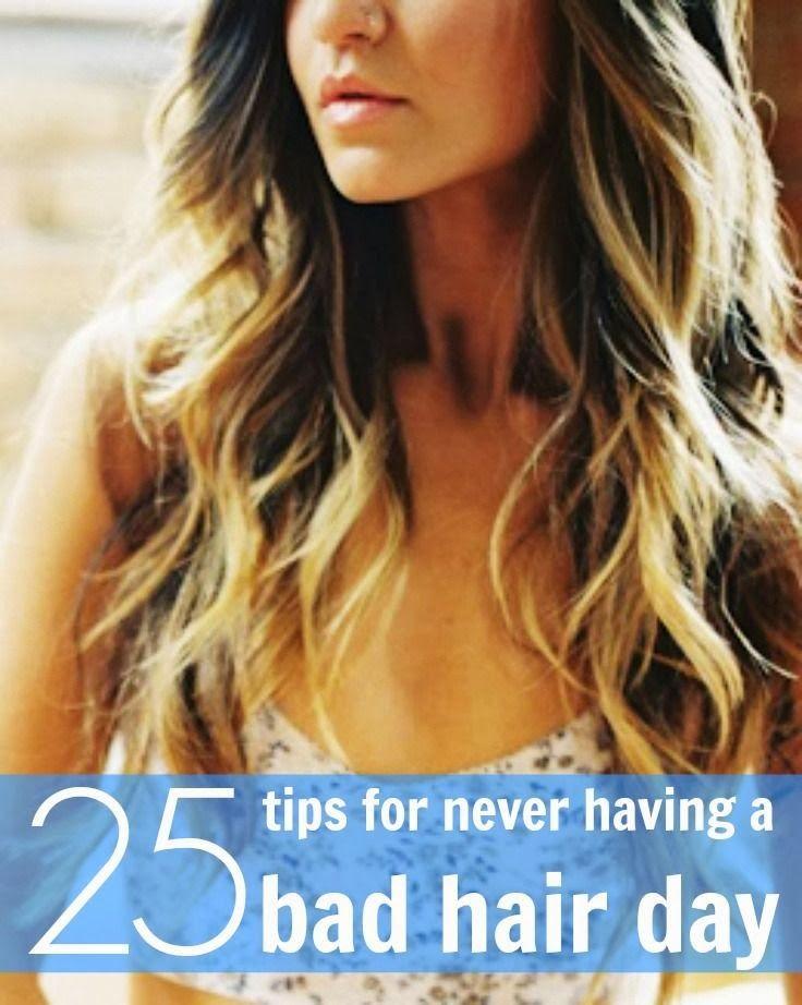 25+Tips+For+Never+Having+a+Bad+Hair+Day.jpg 736×922 pixels