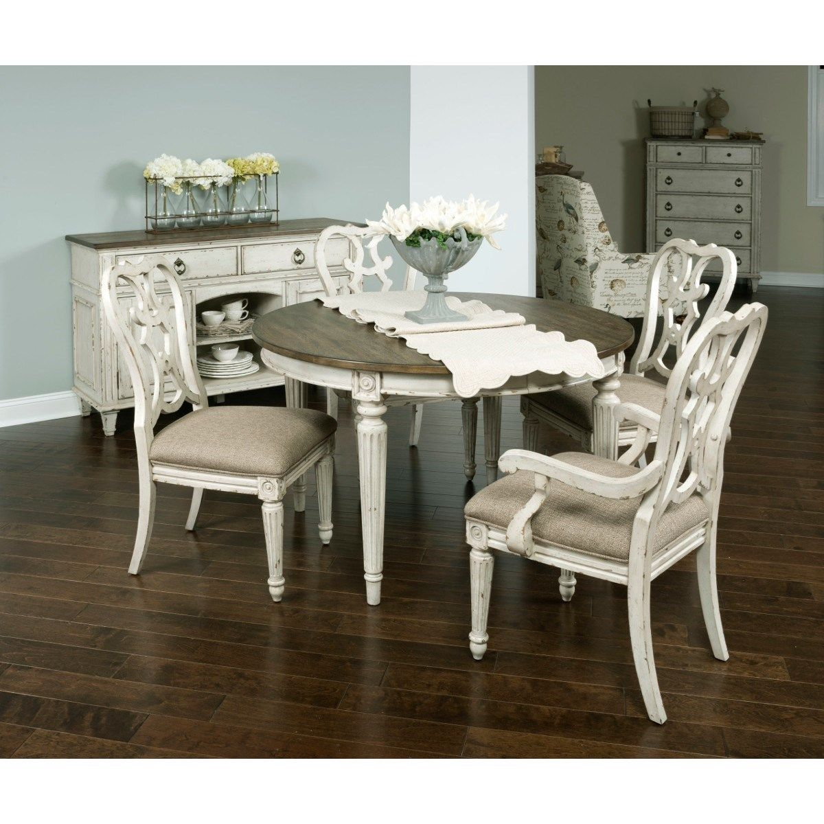 American Furniture And Appliance Stores: SOUTHBURY Round Dining Table With Leaves By American Drew