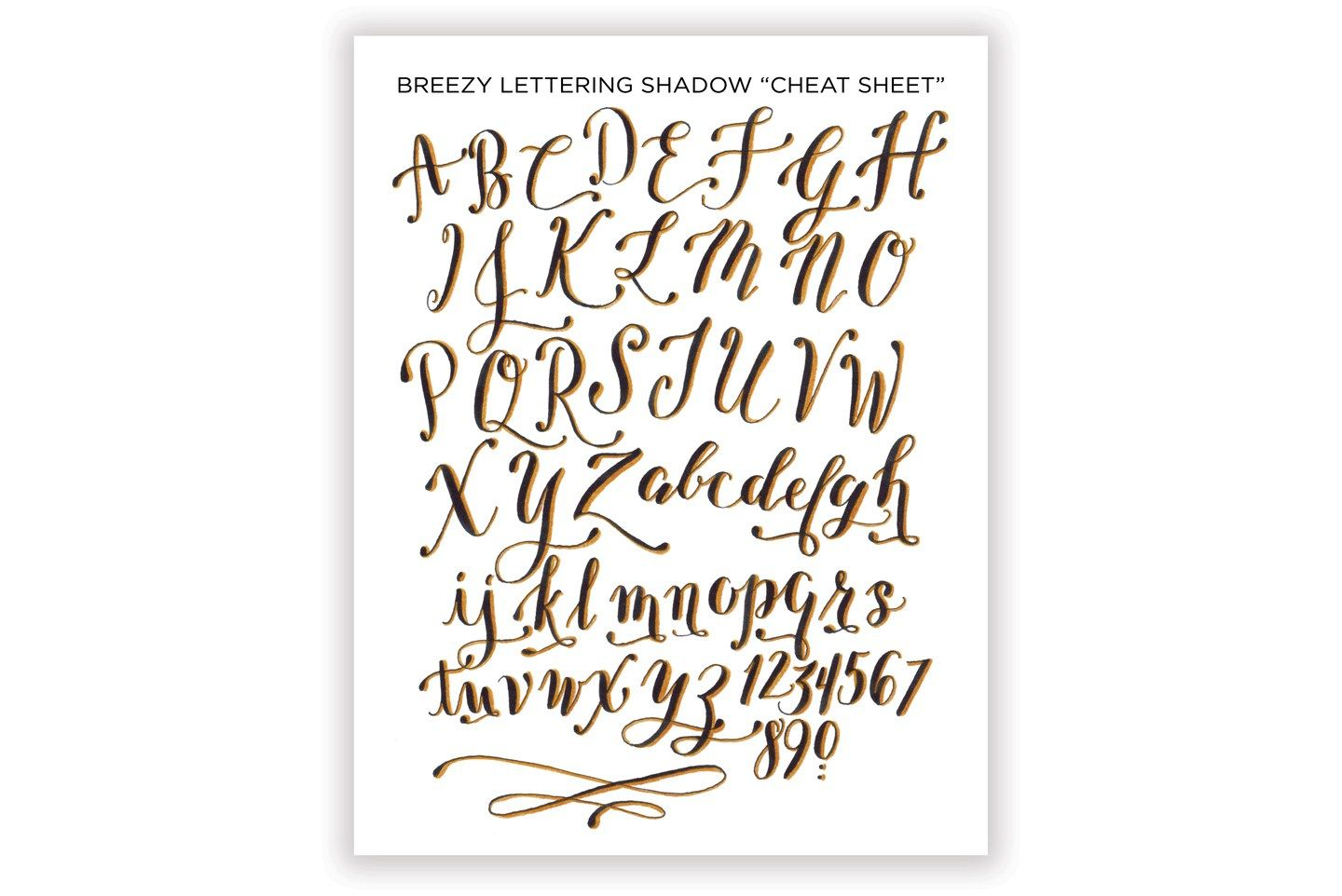 How to write calligraphic 3d letters printable cheat sheets 3d how to write calligraphic 3d letters printable cheat sheets the postmans knock expocarfo Gallery