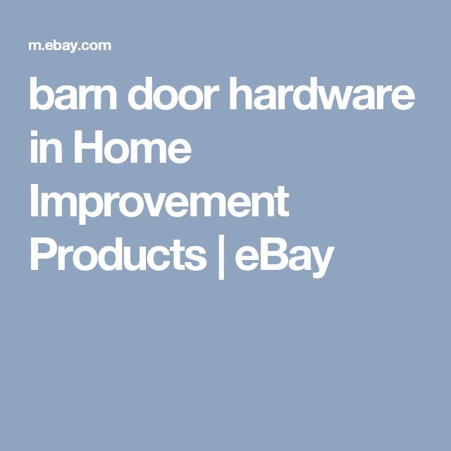 barn door hardware in Home Improvement Products | eBay  sc 1 st  Pinterest & barn door hardware in Home Improvement Products | eBay | barn ...