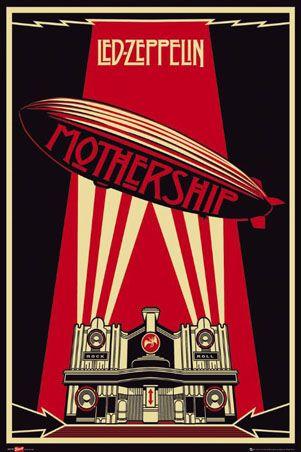 Ledzepp Led Zeppelin Poster Rock Posters Led Zeppelin Wallpaper