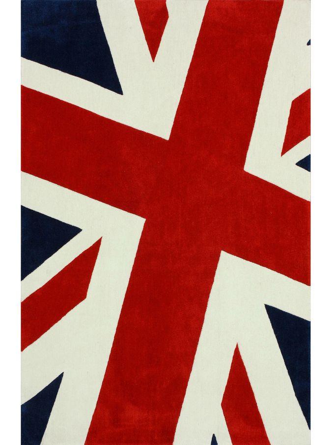 Modern Invasion Union jack rug