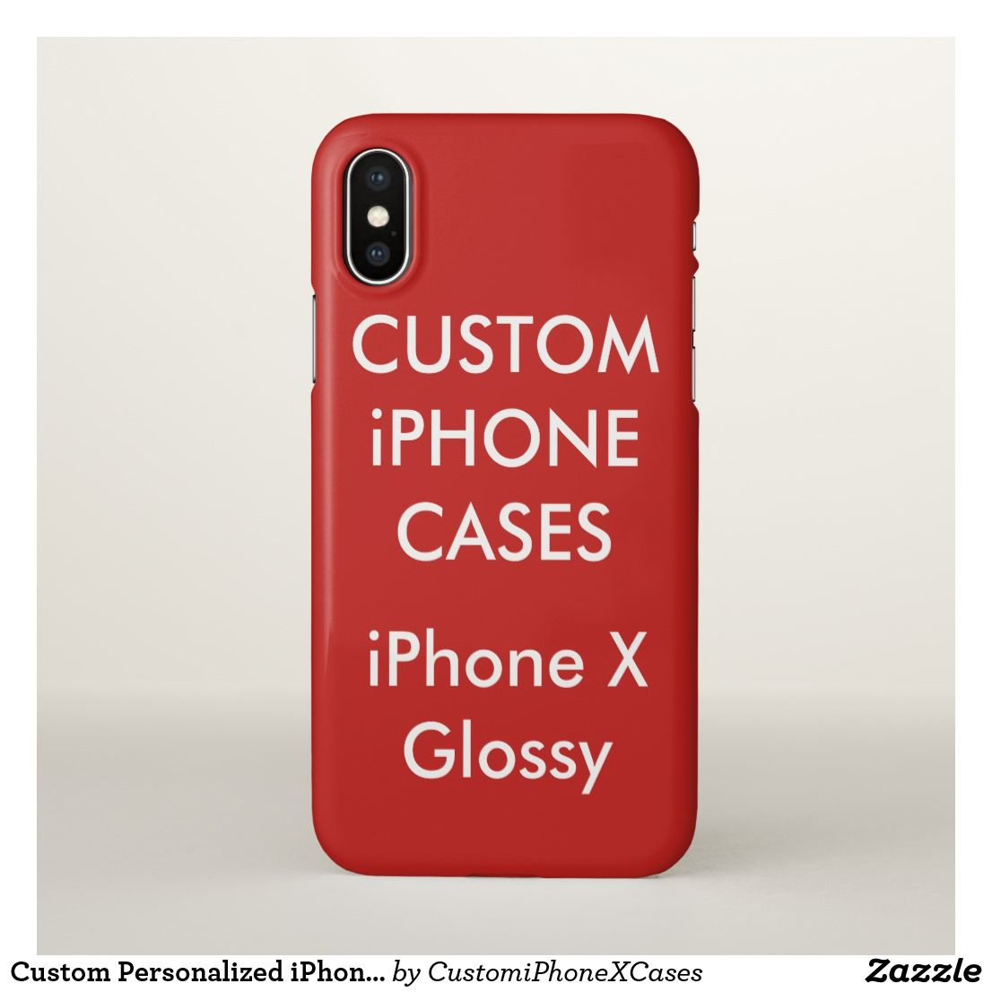 Custom Personalized Iphone X Case Blank Template Custom