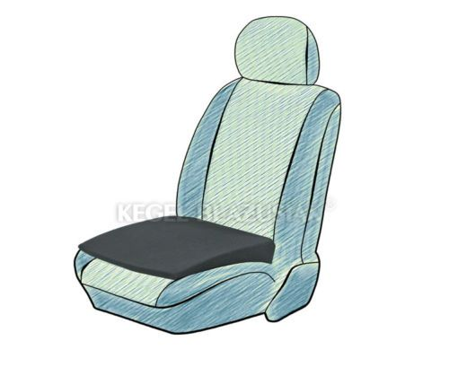 Details About 1x Deluxe Adult Support Cushion Seat Wedge Booster Height Foam Car Office Van Seat Cushions Car Office Car Seats