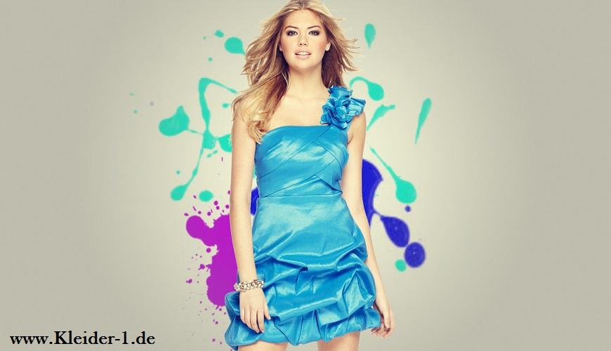 Abendkleider Hellblau | Abendkleid, Cocktailkleid blau ...