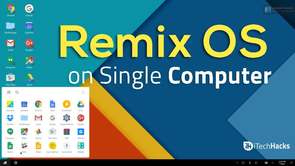 How To Install Remix OS on Windows PC, MAC (Working) 2019