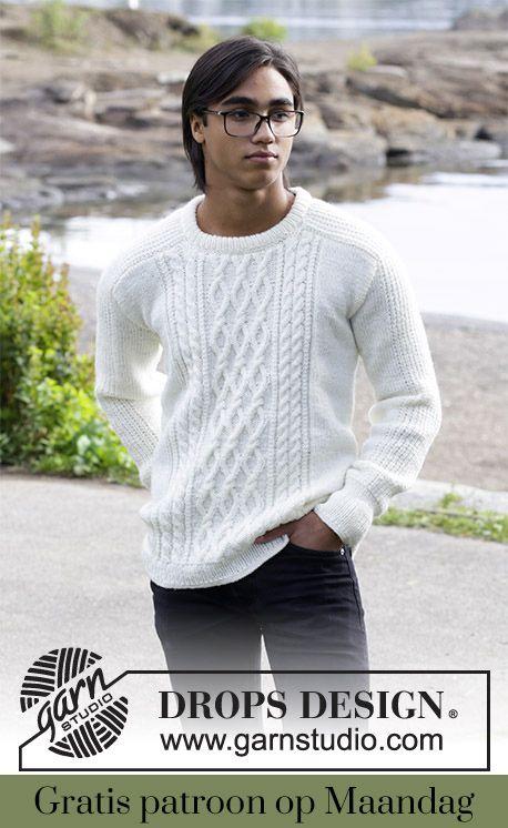 Gratis patroon op maandag - Breipatroon trui. Ontvang ieder maandag ...