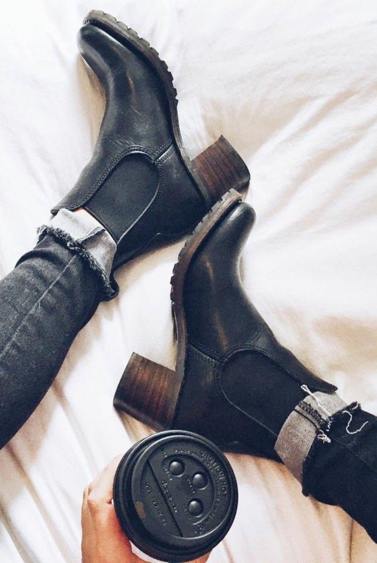 So kombinieren Sie Stiefeletten richtig - 30 Styling-Tipps #shoeboots
