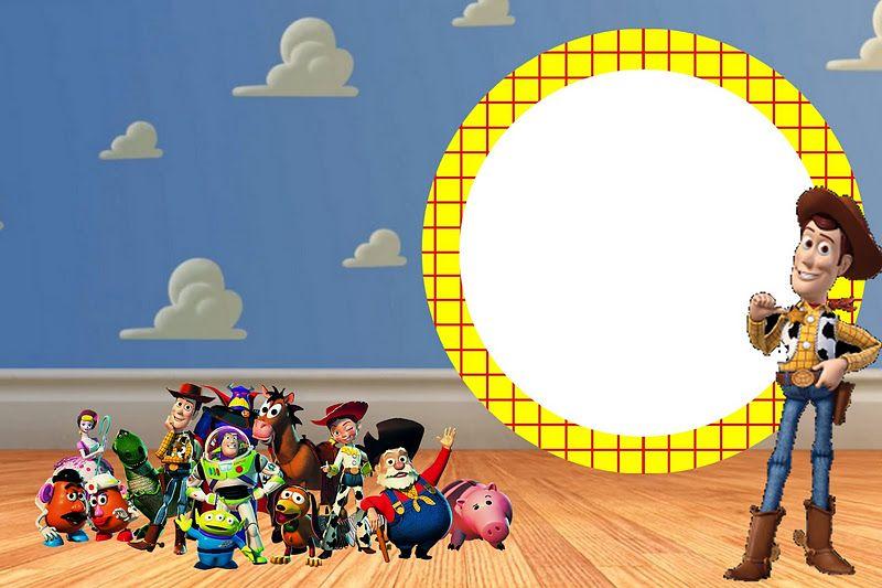 Tarjetas De Cumpleaños De Toy Story Para Editar Imagui