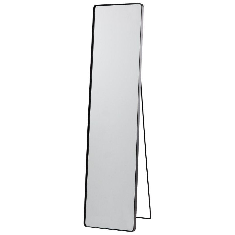 Standspiegel Toftlund Schwarz Standspiegel Spiegel Spiegel 60x80