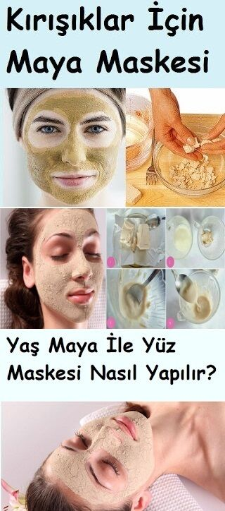 Yaş Maya İle Yüz Maskesi