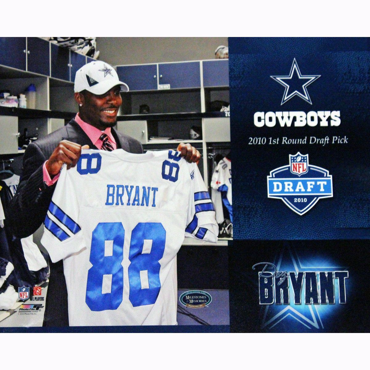 Dez Bryant 2010 1st Round Draft Pick 11x14 Collage Photo unsi