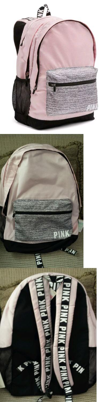 VictoriasSecret PINK CAMPUS BACKPACK Cherub Pink//Grey Marl