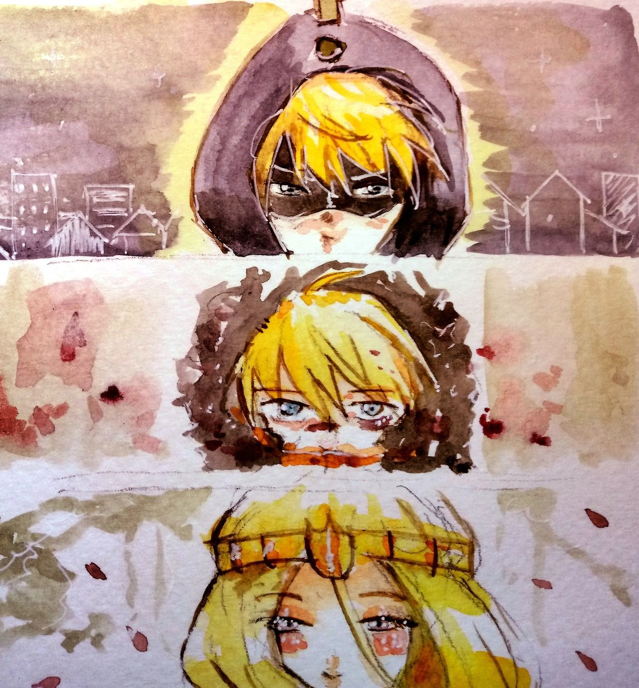 The faces of Kenny by Rosiochii #kenny mccormick #south park