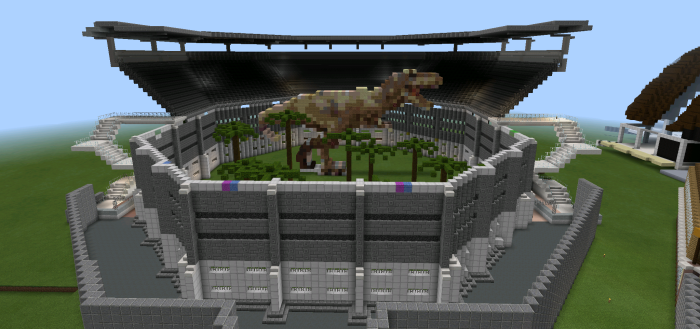Minecraft jurassic world map google search jurassic park minecraft jurassic world map google search gumiabroncs Image collections