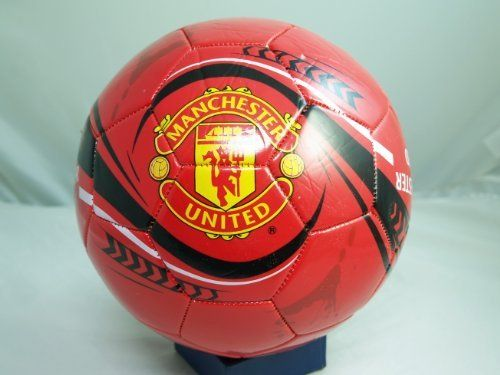 MANCHESTER UNITED FC OFFICIAL SIZE 5 SOCCER BALL - 092 by Tripact Inc. $22.50. Size 5 Soccer Ball.. Durable Cover for long terrm use.. Many different unique designs. Find one that fits your style or taste.. Be fit and active.  Practice at home or at a local park.. Soccer, Football, or Futbol (whatever you call it) is the most popular sport in the world.  Partake in this fun and exciting activity with your own ball.  Be unique and active. Use it to practice at home, a local ...