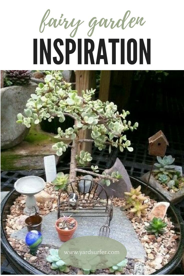 Mini garden inspiration   Outstanding Fairy Tale Ideas For Your Garden  fairy gardens and