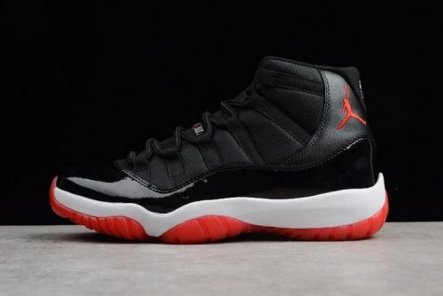 newest 1c1db 21169 Shop Air Jordan 11 Retro Bred Black Varsity Red-White 378037-010 For Sale -  ishoesdesign