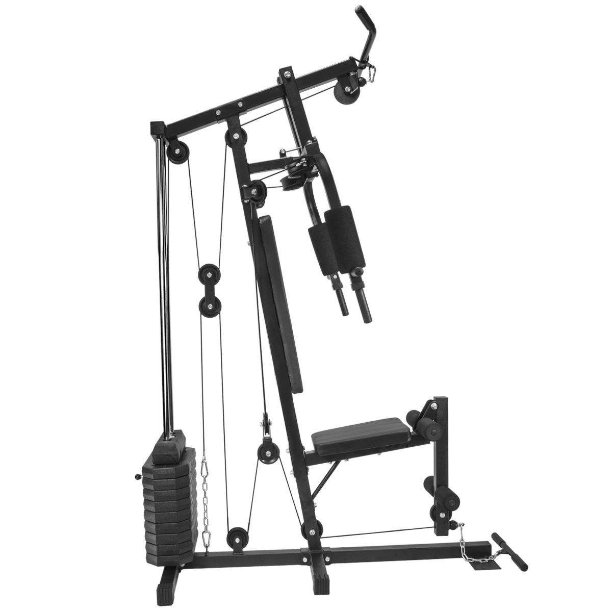 XtremepowerUS Multifunction Home Gym Fitness Station ...