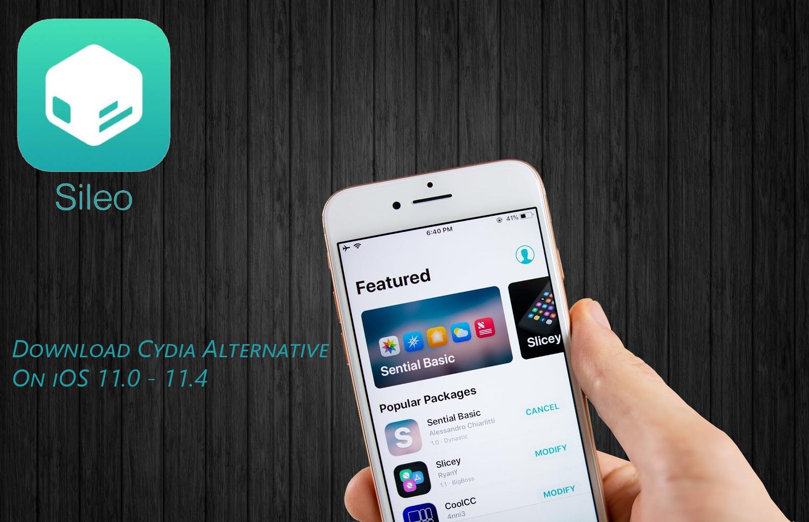 Download Sileo amazing Cydia alternative on your iOS 11 0