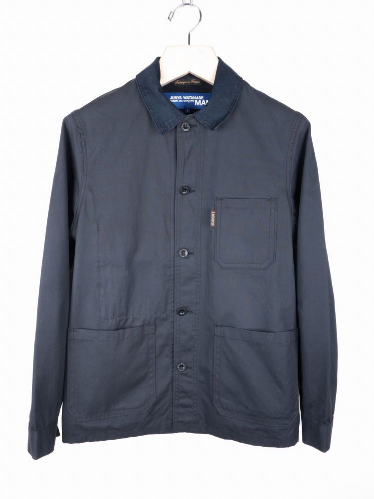 6cd592a14 Rare JUNYA WATANABE MAN Le Laboureur Waxed French Work Jacket COMME ...