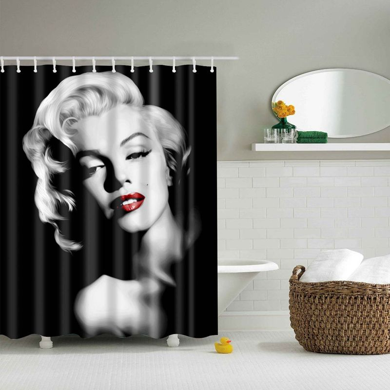 Cool Shower Curtains Marilyn Monroe Cool Shower Curtains Fabric